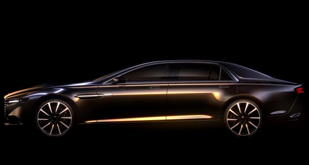 Aston Martin Lagonda super sedan stiže sledeće godine