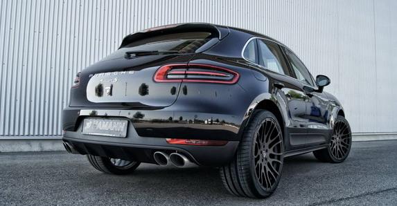 Porsche Macan sa novim Hamann felnama