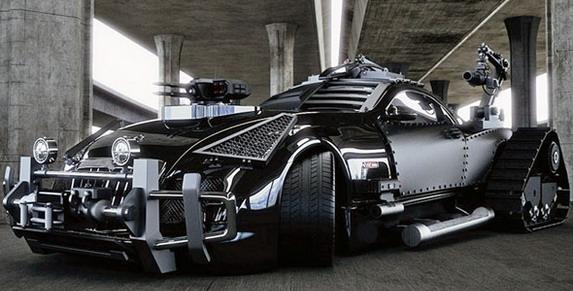 Maybach Exelero kao ultimativna borbena mašina
