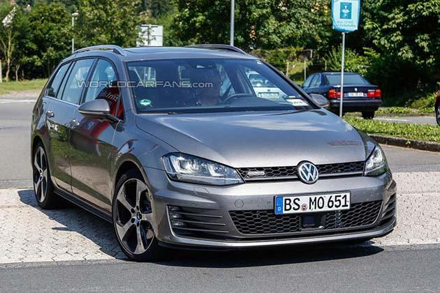 Slikan novi Volkswagen Golf Variant GTD
