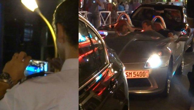 Policajac zaustavio sabraćaj da bi slikao Ferrari