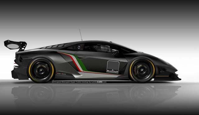 Lamborghini Huracan Super Trofeo snimljen u Monterey