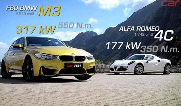 Alfa-Romeo-4C-BMW-M3