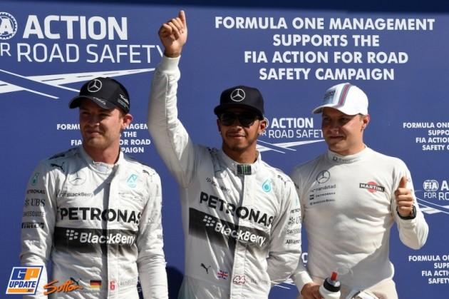 Hamilton Rosberg Bottas Monza 2014