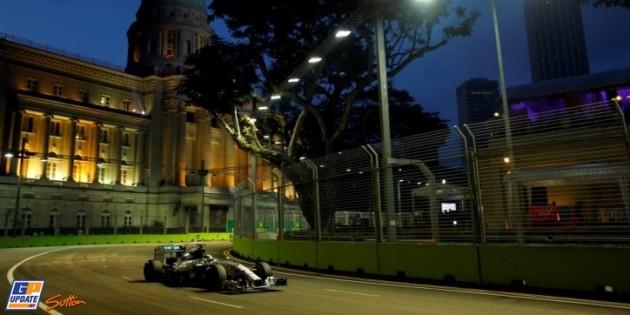 Hamilton Singapur