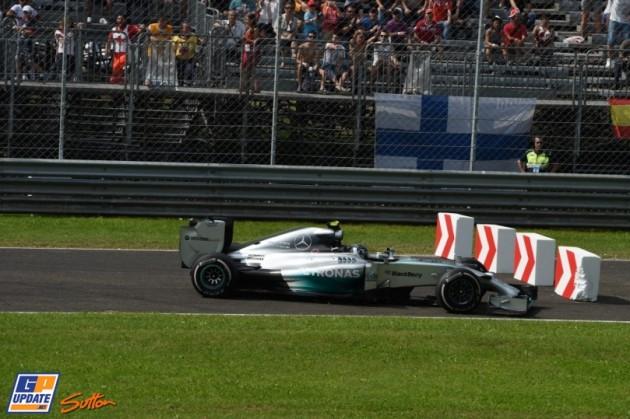 Rosberg mistake