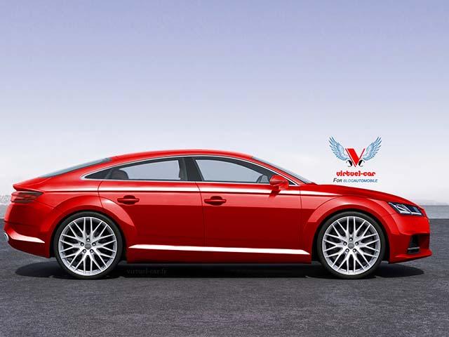 Prva slika: TT Sportback koncept
