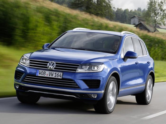 Volkswagenizbacuje.TDImotorzaTouaregfacelift,sapotrošnjomod.l/km