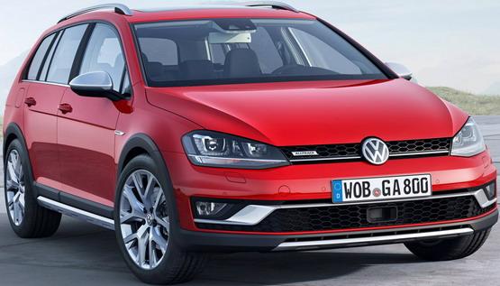 Predstavljen Volkswagen Golf Alltrack