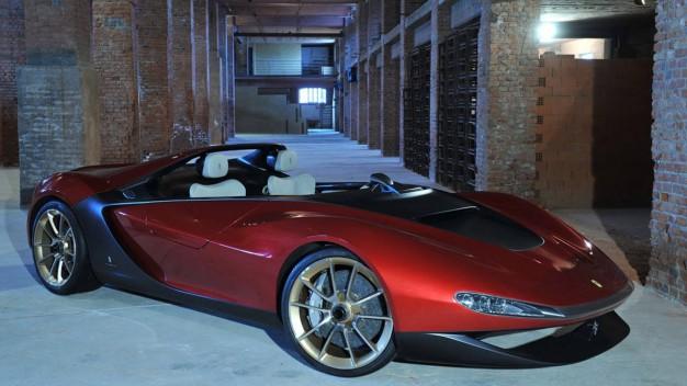Ferrari–baziranPininfarinaSergiokrećeuprodukciju