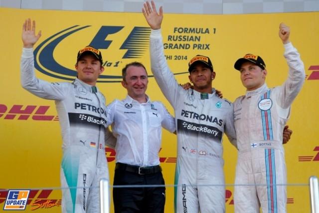 Rosberg Lowe Hamilton Bottas Soch