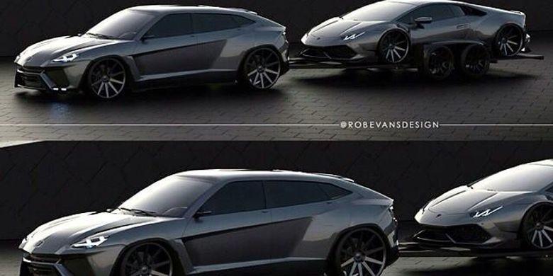 Kako Rob Evans vidi Lamborghini Urus