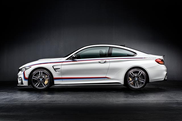 BMW M4 mit M Performance Parts