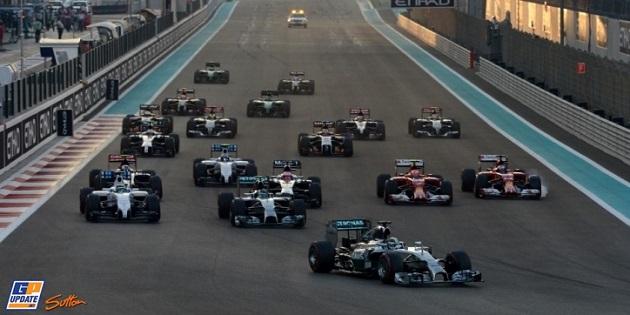 Hamilton 2014 F1 Chamipon