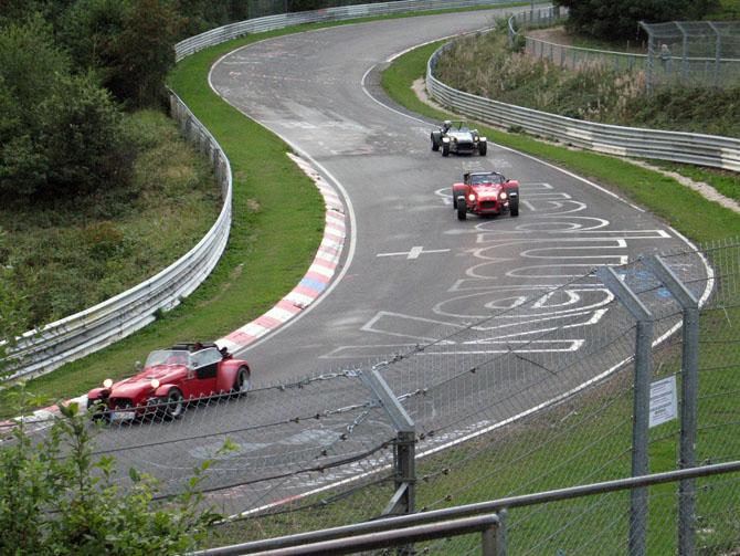 Nurburgring lap