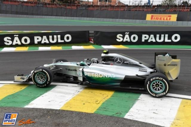 Rosberg FP1 Brasil