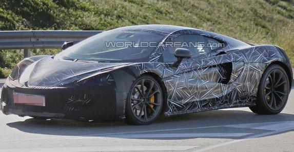 Špijunska slika: McLaren Sports Series