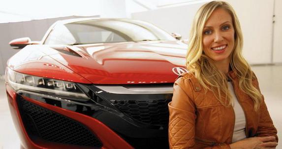 Michelle Christensen: žena koji stoji iza Honde NSX