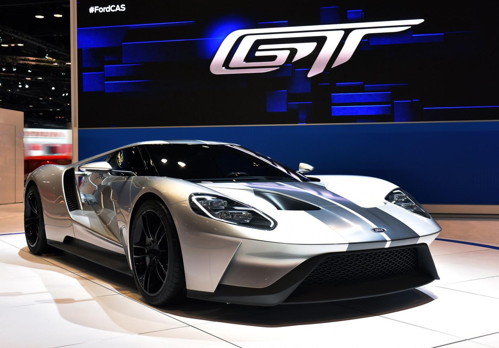 Ford predstavlja GT model u Liquid Silver boji