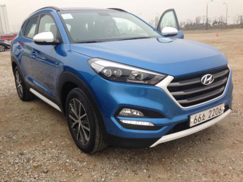Uslikan potpuno nov model Hyundai Tucson