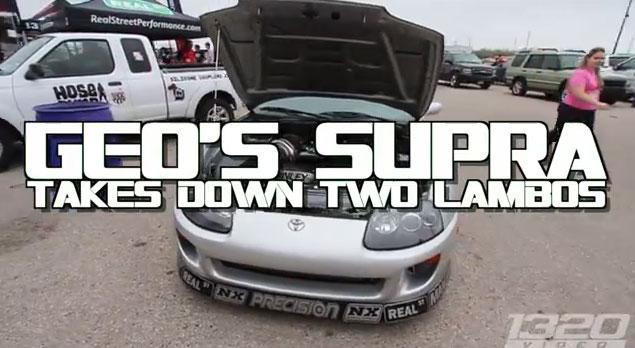 Video:ToyotaSupraodKSkidaLamborghiniGallardoodKS