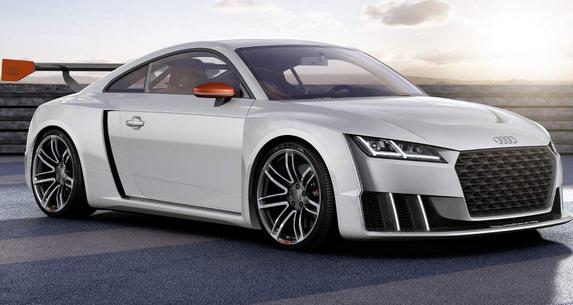 Ovo se čekalo: Audi TT Clubsport Turbo koncept
