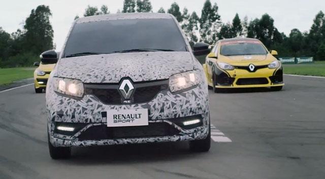 Video: Ranault opet tizuje sa Renault Sandero R.S modelom