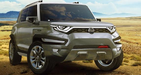 Južnokorejski Ssangyong razmatra proizvodnju serijskog XAV