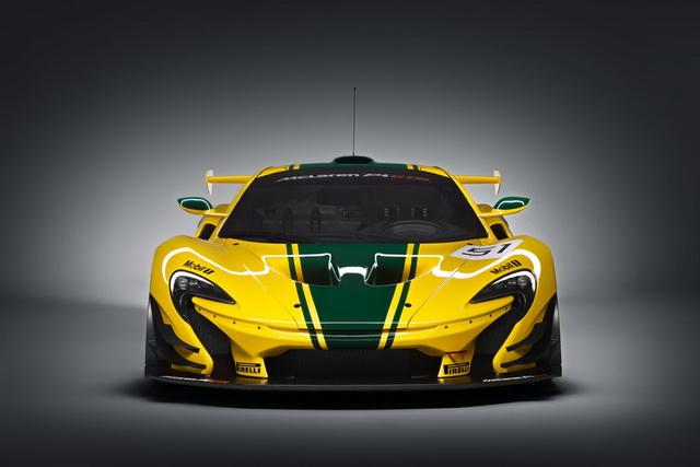 McLarenpočeosaproizvodnjomPGTR