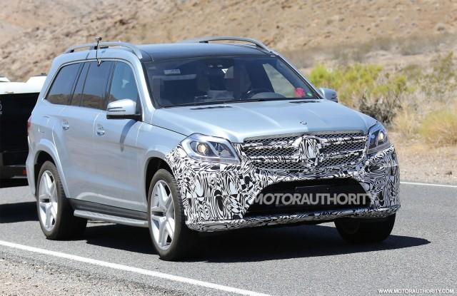 Novi Mercedes GLS uhvaćen na kameri