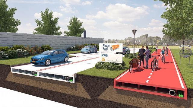 Plastika umesto asfalta?