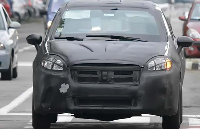 Spažen novi Fiat Bravo