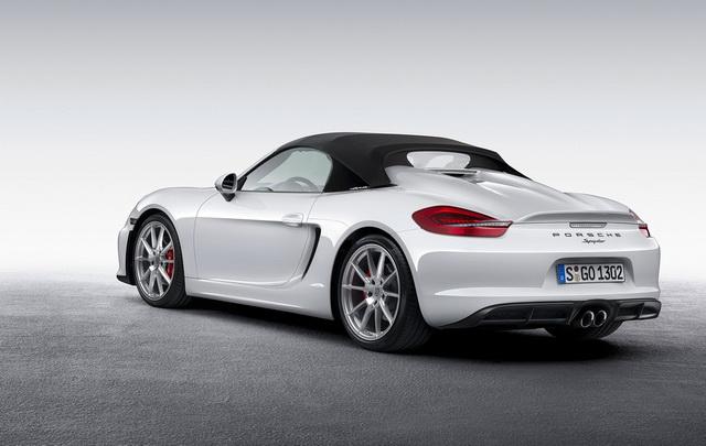 Test: Porsche Boxster Spyder