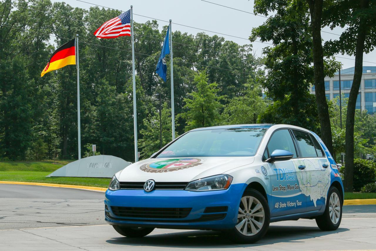 VW Golf TDI Clean Diesel ušao u Ginisovu knjigu rekorda