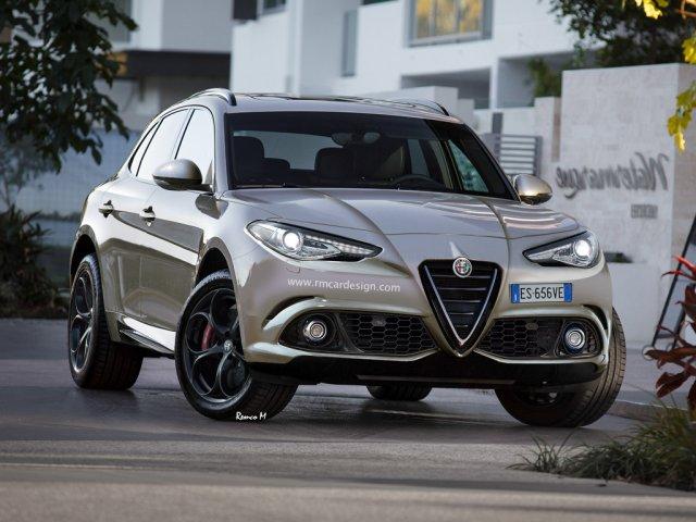 Potencijalni izgled Alfa Romeo SUV-a