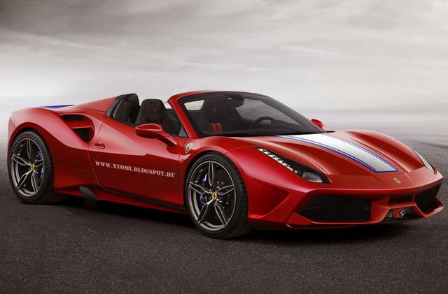 Mogući izgled Ferrari 488 Spider Speciale A