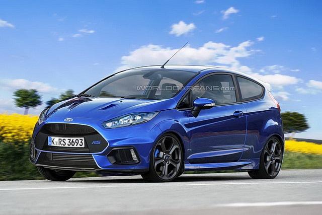 Nova Ford Fiesta RS bi mogla da izgleda sjajno