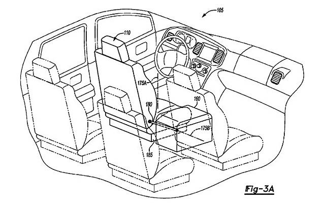 Ford patentirao sedišta podložna rekonfiguraciji