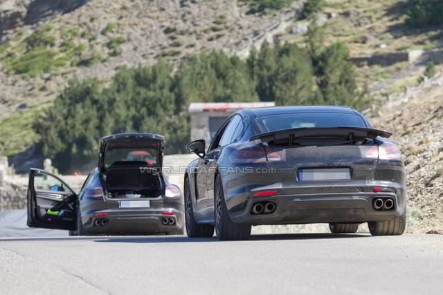 PorschePanamerauslikanuzdužipopreko