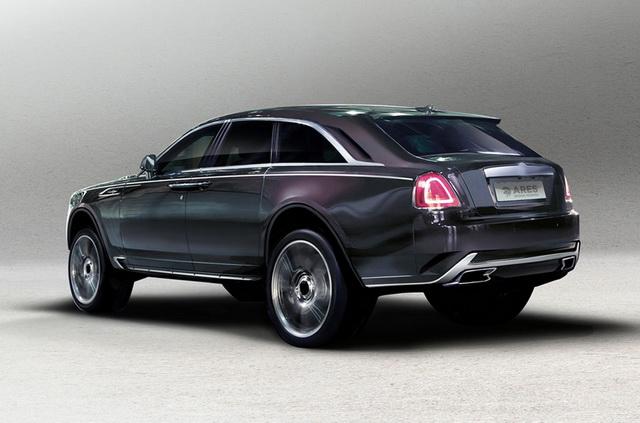 Kako bi mogao da izgleda Rolls Royce SUV