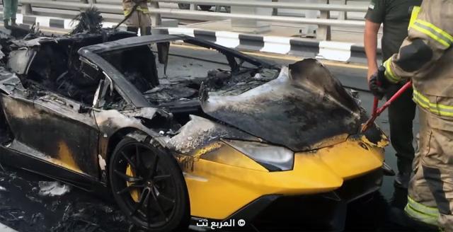 U Dubaiju izgoreo Lamborghini Aventador [Video]