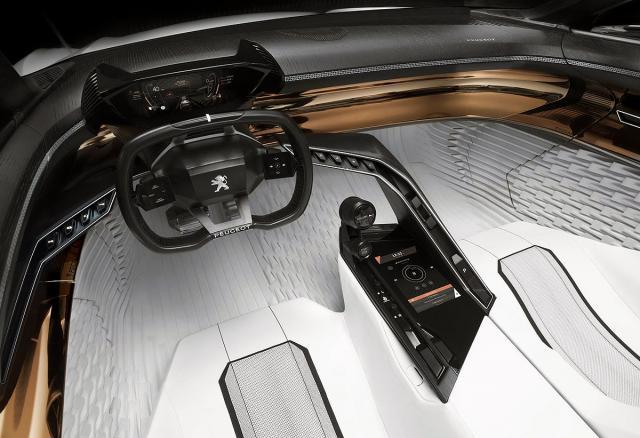 Peugeot Fractal Concept promotivni video