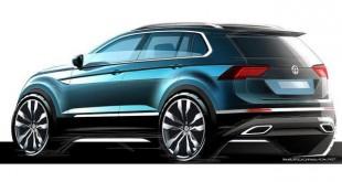 VW prikazao skice novog Tiguana