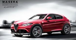 Alfa Romeo SUV ponovo renderovan