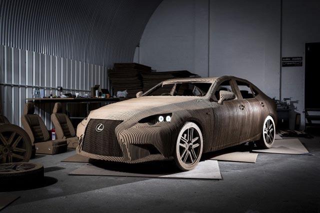 lexus_kartonski_origami_automobil_0