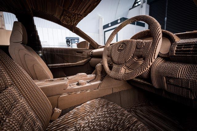 lexus_kartonski_origami_automobil_1