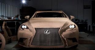 Lexus napravio kartonski auto koji može da se vozi [Video]