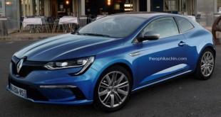 Da li će ovako izgledani novi Renault Megane Coupe?