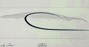 Bugatti Chiron otkriven na skici