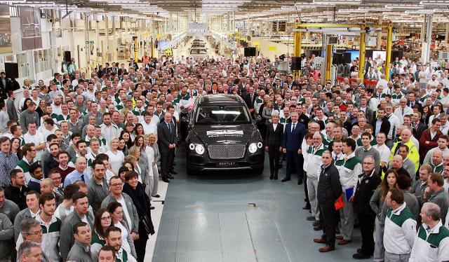 Krenula proizvdnja Bentley Bentayga SUV-a